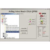 EU0017 AirBag Volvo HC12/HCS12/CR16 OBD