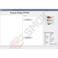 EU0023 AirBag Renault, Dacia SPC560 OBD