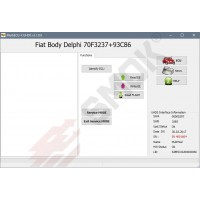 FT0016 Fiat Body Delphi OBD