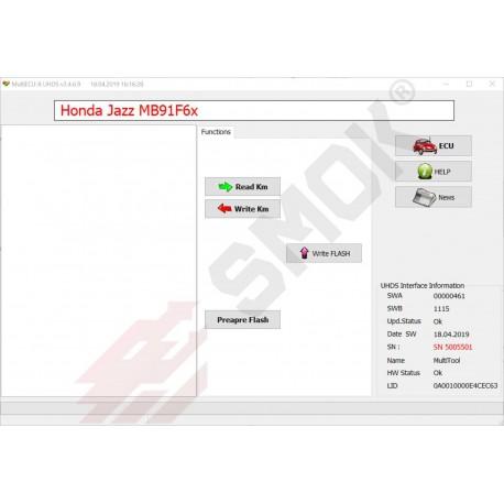 HN0001 Honda change KM by OBD