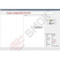 EU0036 Subaru moduł AirBag na R5F617xx odczyt flash po CAN (poprzez złącze sterownika) lub OBD