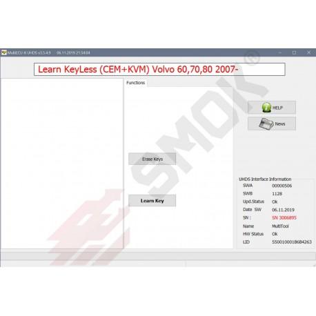 VO0013 Learn Keys Volvo