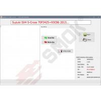 SZ0004 Suzuki SX-4 S-Cross (70F3425+93C86) 2013-... OBD