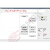 RT0031 Renault Card Programing in HFM Module OBD
