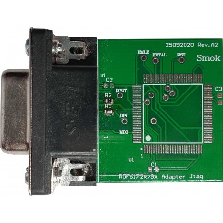 Adapter R5F6172x/9x for JTAG
