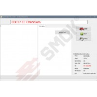 EC0001 EDC17+MED17 Calculator Check Summ Data Flash (EEPROM)