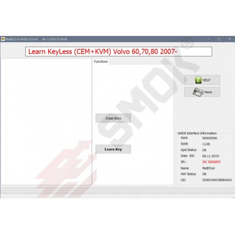 VO0013 Learn Keys Volvo