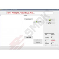 EU0037 Volvo AirBag Modules 60/70/80 2010-... 70F3466+95128 Bosch by OBD