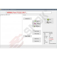 EU0034 Ford AirBag TC222 Read/Write EEprom EU, USA version