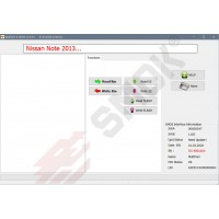 NS0004 Nissan Note 2013-... OBD