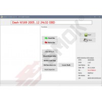 MS0011Mercedes W169, W245 (24c32) 2005-2012 with blockade EZS OBD