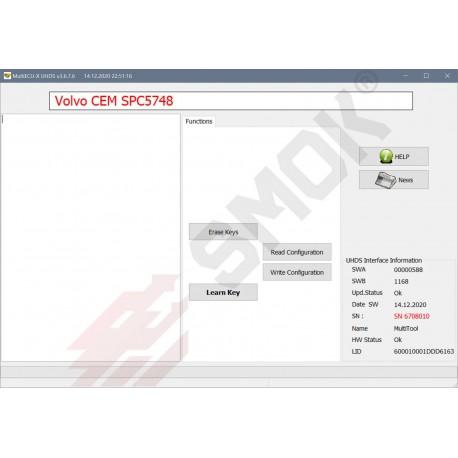 VO0016 Volvo Read/Write Configuration 2015-2020 (CEM MPC5646/5748G)