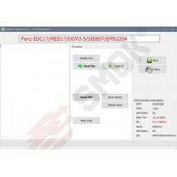EU0046 Ford Learn Immo System EDC17/DCM3.5/MED17c10/EDC17c70/EMS2204/MED17.0.1/SID807EVO/SID206
