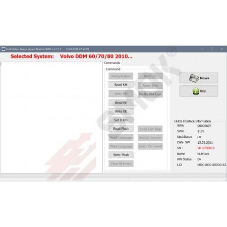 VO0017 Volvo DDM/PDM 2010-2018 full OBD