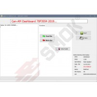 BB0001 Bombardier (CAN-AM) Dashboard Bosch 70F3554 20019-... by Dash Cennector